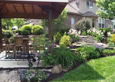 Residential Landscape and Retaining Wall