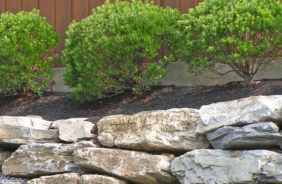 Decorative Stone and Retaining Walls