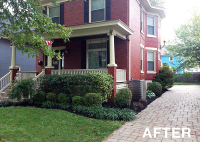 Landscaping Project After - Kissel Landscaping
