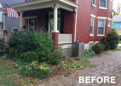 Residential Landscape Project - Before