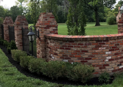 Kissel Residential gate edging