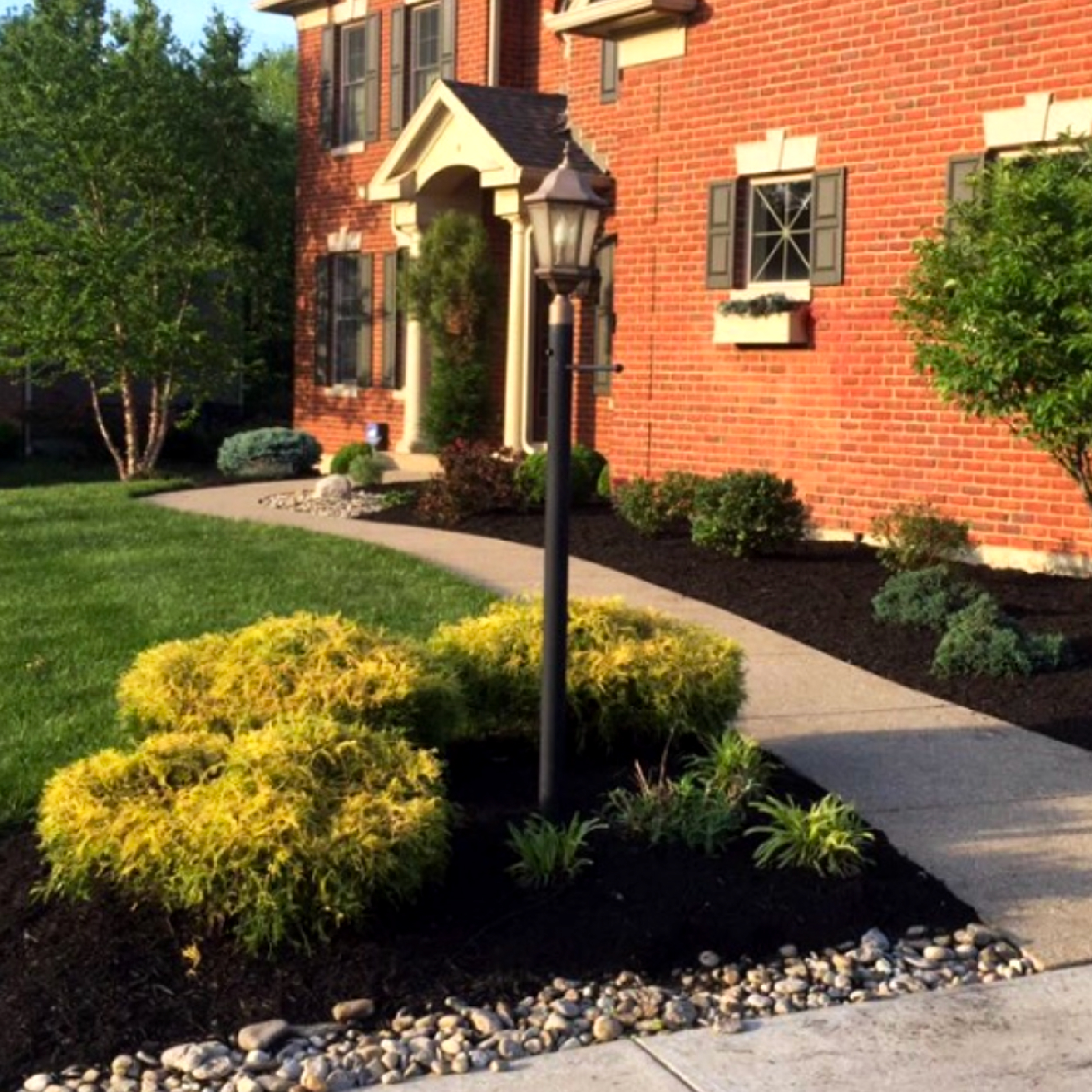 Residential Home Cleanup Landscape